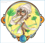 Chibi Commission .Meno. by Cleox