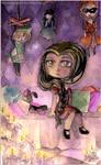 Chibi Commission .Ningyo. by Cleox