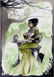 Victoria .The sad Tea Time. by Cleox