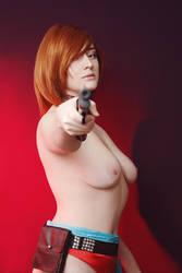 Saika Magoichi nude by Ashitaro