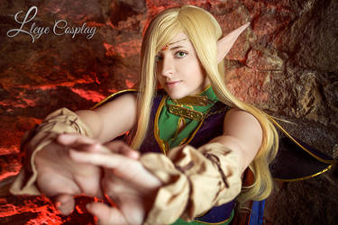 Deedlit cosplay, Record of Lodoss War by Ashitaro