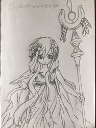 Sheherazade from Magi the Labyrinth of magic by DizzyDimensy