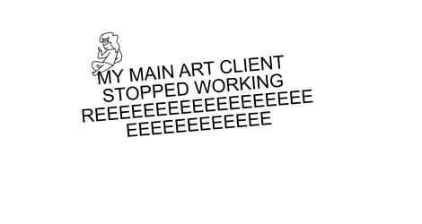 my main art client stopped working by sammmyham