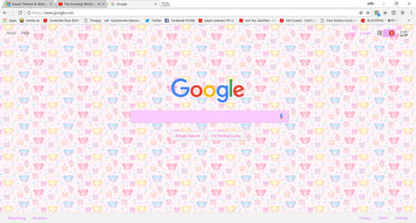 this is what my browser looks like by sammmyham