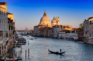 Venice, Basilica of St Mary, Grand Canal by roman-gp