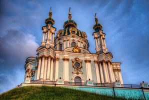 St Andrew's Church, Kiev II by roman-gp