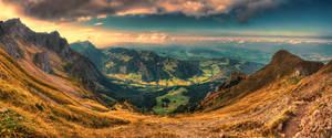 Sunset valley by roman-gp