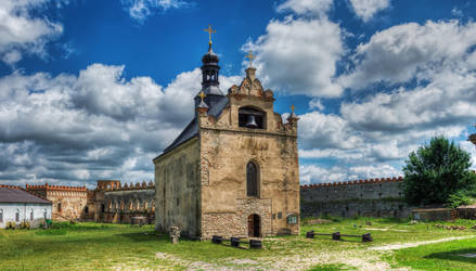 Church in Medzhybizh fortress by roman-gp
