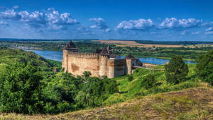 Khotyn Fortress by roman-gp