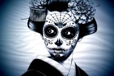 Dia de Muertos by fartprincess