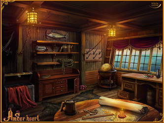 the captain's cabin by BigMuzzzy