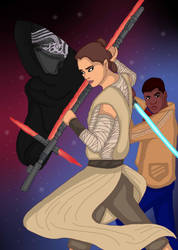 Star Wars: The force awakens by kn1978