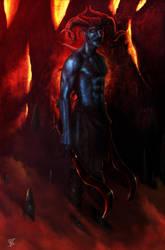Devil Warrior by Wilmar-Ballespi