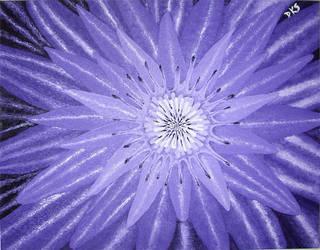 Purple Lotus by dksartwork