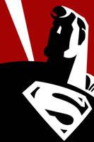 Superman by larsloenstrup