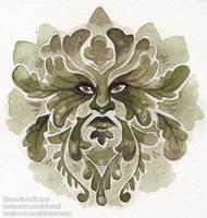 Green Man by Rituhell