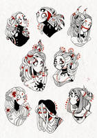 Planche 2 - Dieux by Rituhell