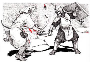 Battle for Giurgiu by FioreValentine