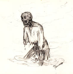 Acid zombie by FioreValentine