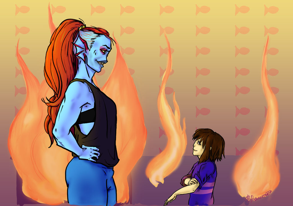 How become friends with mermaid [Undertale] by FioreValentine