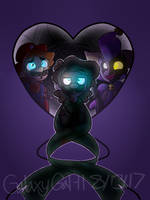 (SPM)Double Hearted, Single Minded by GalaxyGal-11