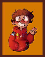 (BMC)Michael Mell(REDRAW) by GalaxyGal-11