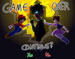 (BMM)GAME OVER by GalaxyGal-11