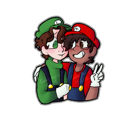 (BMC)P1 and P2 by GalaxyGal-11