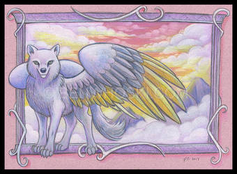 Sky Wolf by benwhoski
