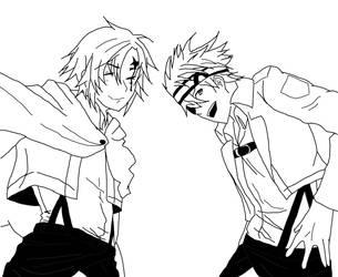Shingeki no Kyojin x D. Gray-man by CathiiAnime