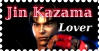 Jin Kazama Lover stamp by ScionChibi
