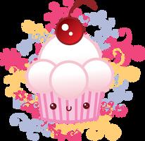 kawaii cupcake by Irym