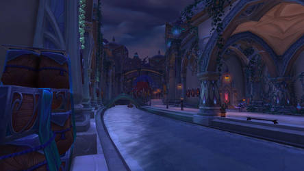 Suramar City - Commons by NinjaJaffaCake