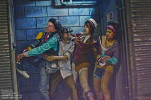 A Ragtag Band of Vault Hunters by hildaglitz