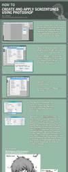How To Make Screentones by xxcrossmaniac