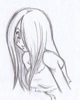 Left 4 Dead Witch Sketch by X-Cross