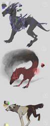 Adoptable characters by Shagan-fury