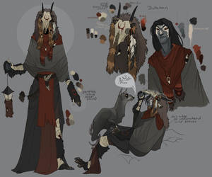 Dullahan concept 2 by Shagan-fury