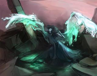 blue veins by Shagan-fury