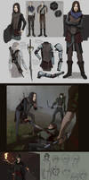 Character art/designs by Shagan-fury