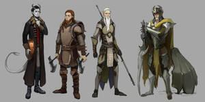 Character designs III by Shagan-fury
