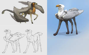 Griffins by Shagan-fury