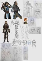Deborah concepts by Shagan-fury