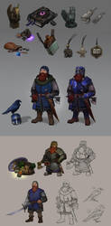 Commision: character designs by Shagan-fury