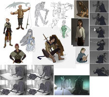 Sketches by Shagan-fury