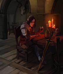 In the tavern by Shagan-fury