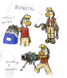 Biometal Yoshi by shadowspark