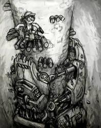 Metal Slug--Iron Claw by shadowspark