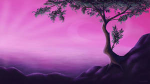 Arts6. Fantasy tree by TheSofN