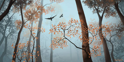 Arts10. Autumn Forest by TheSofN